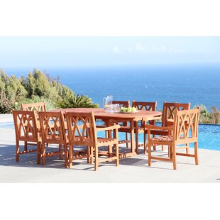 Longshore Tides Stephenie 9 Piece Dining Set