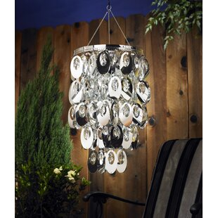 Mercer41 Towcester Oval Shimmer 1-Light Novelty Pendant