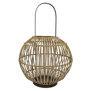 Bamboo Lantern by Bungalow Rose