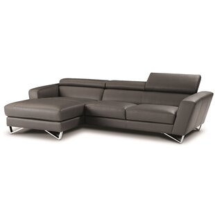 Downingtown Leather Sectional