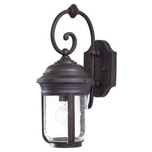 Great Outdoors by Minka Amherst 1-Light Outdoor Wall Lantern