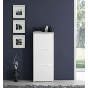 Acquah 9 Pair Shoe Storage Cabinet By Ebern Designs