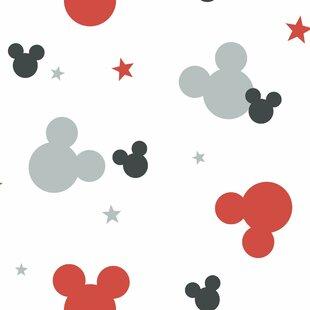 Disney Kids Iii Mickey Mouse 16 5 X 20 Wallpaper Roll