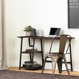 Inexpensive Evane Industrial Writing Desk By South Shore