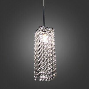 Mercer41 Thayer 1-Light Crystal Pendant