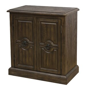 Sandwell Carved 2 Door Accent Cabinet by Alcott Hill
