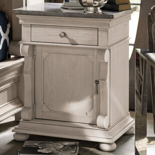 Effie 1 Drawer Nightstand by One Allium Way