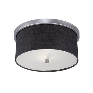 Red Barrel Studio Steuben 2-Light Flush Mount