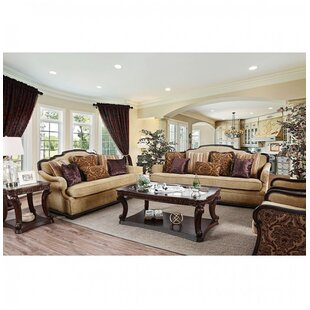 Astoria Grand Rhys 3 Piece Living Room Set