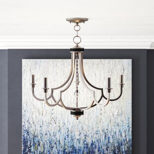 Buy clear Crayford 5-Light Candle Style Chandelier By Willa Arlo Interiors