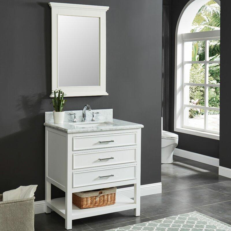 Coastal Farmhouse Colleen 31 Single Bathroom Vanity Set Reviews Wayfair