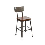 Solid Wood 26 Counter Stool