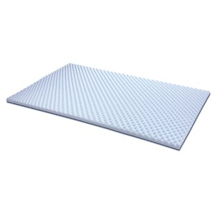 Egg Crate Foam Mattress Topper Wayfairca