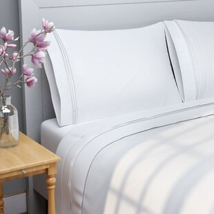 The Twillery Co. Patric 1000 Thread Count 100% Egyptian-Quality Cotton Sheet Set
