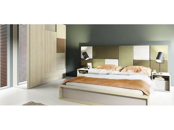 meble vox 3d european queen bed frame wayfaircouk - European Bed Frame