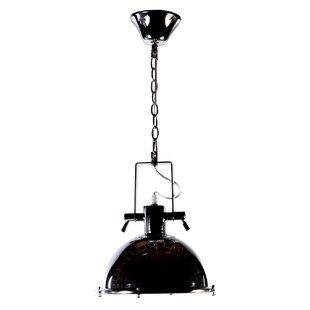 Nautical pendant lighting wayfair eloi 1 light dome pendant aloadofball Gallery