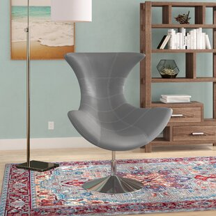 Wade Logan Campos Swivel Lounge Chair