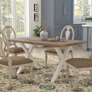 Atchison Solid Wood Dining Table by Lark Manor Cheap
