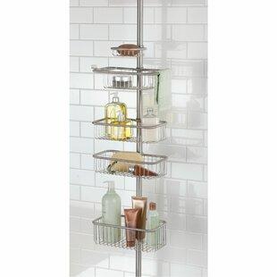 Rebrilliant Eisele Ultra Constant Tension Bathroom Shower Caddy