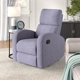 Bayerl Contemporary Push Button Recliner by Ebern Designs