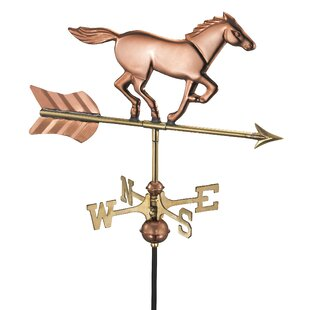 Brunello Horse Weathervane By Sol 72 Outdoor