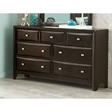 Nana Transitional Wooden 7 Drawer Double Dresser by Red Barrel Studio®