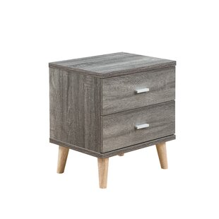 Grosso 2 Drawer Nightstand