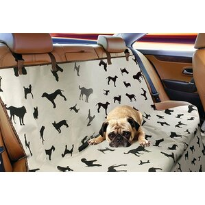 Puppy Print Dog Car Seat S..