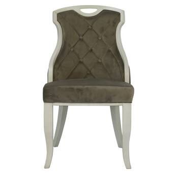 One Allium Way Southport Bergere Upholstered Side Chair Reviews Wayfair