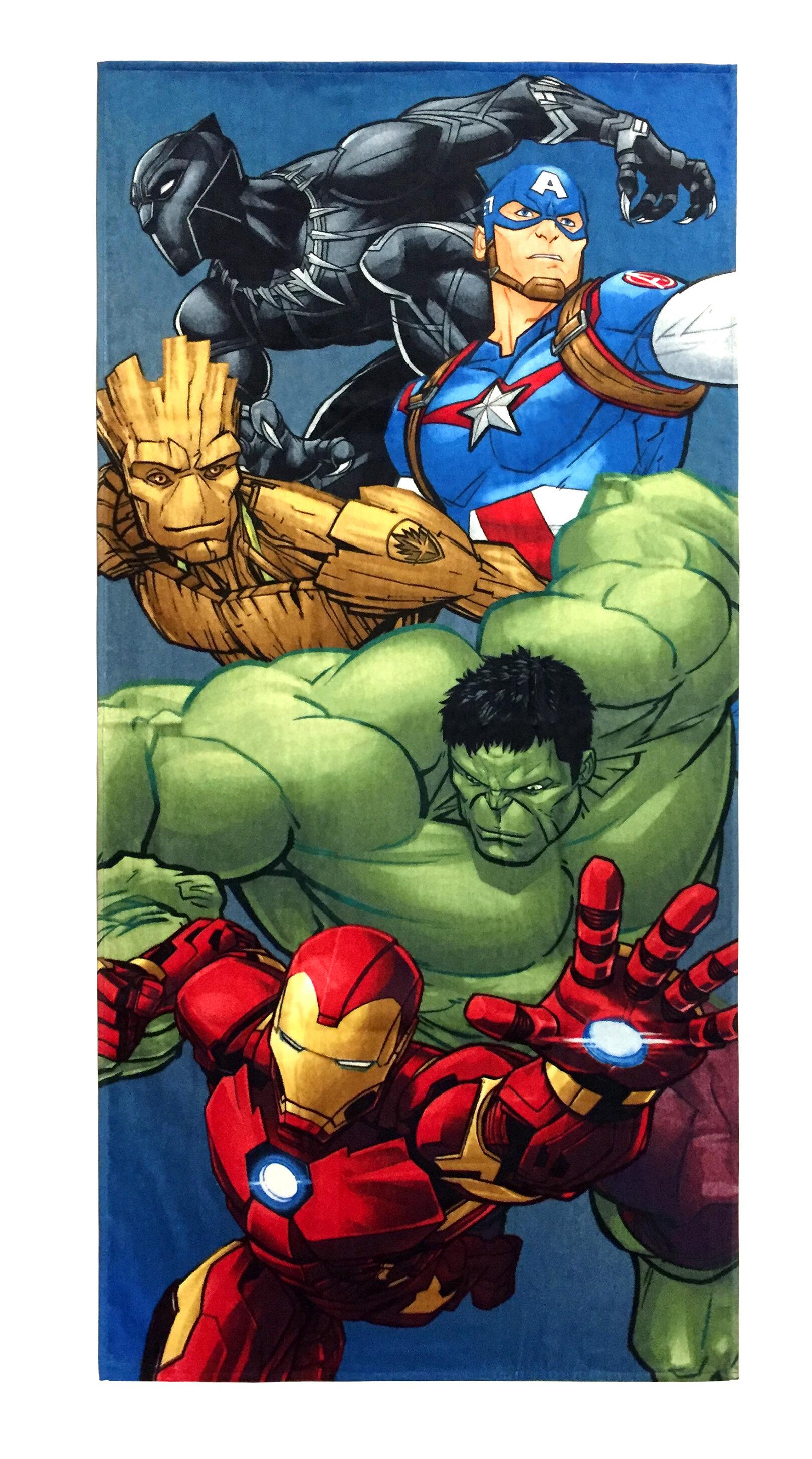 Marvel Avengers Infinity War 100 Cotton Beach Towel Wayfair