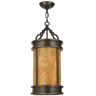 Meyda Tiffany Wyant 1-Light Cylinder Pendant