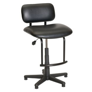 Traditional Tubular Base Drafting Chair by Symple Stuff #2