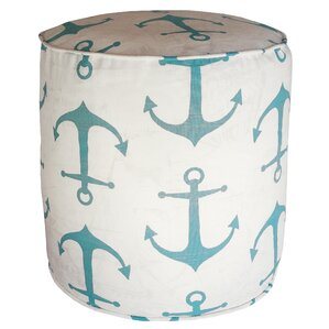 Barview Anchors Pouf Ottoman by Breakwater Bay