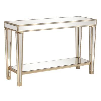 Paulornette Mirrored Console Table