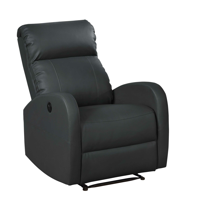 Super Atilia Modern Leather Power Recliner Machost Co Dining Chair Design Ideas Machostcouk