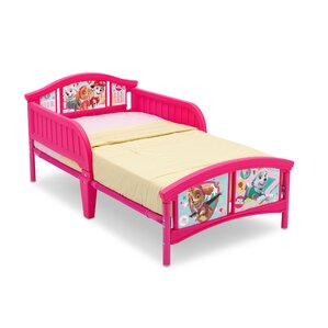 Nick Jr. PAW Patrol Skye and Everest Plastic Toddler Bed by Delta Children