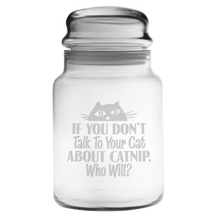 Talk to Your Cat Apothecary Jar