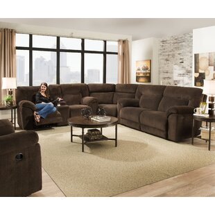 Darby Home Co Radcliff Reclining Sectional