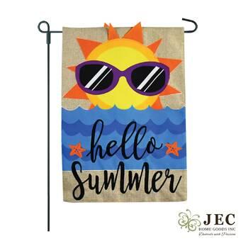 Breeze Decor 2 Piece Better In Flip Flops Summer Fun The Sun Impressions Decorative Vertical 2 Sided Polyester Garden Flag Set Wayfair