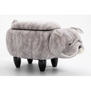 Wallace Storage Ottoman By Happy Larry