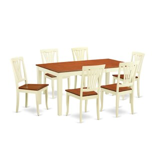 Napoli 7 Piece Dining Set by Wooden Importers Wonderful