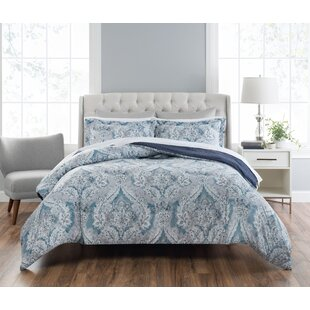 Jacobian Reversible Comforter Set by Nicole Miller