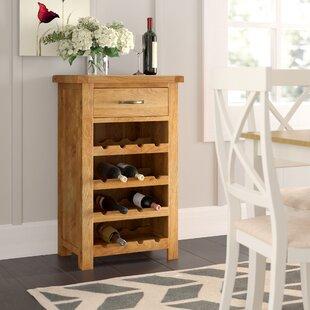 16 Bottle Petite Wine Rack By Gracie Oaks