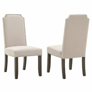 Compare Robbe Upholstered Dining Chair (Set of 2) by Darby Home Co Reviews (2019) & Buyer's Guide
