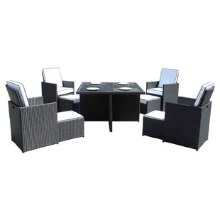 Wren 4 Seater Dining Set With Cushions By Sol 72 Outdoor