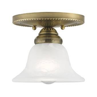 Classic Lighting 3 Light 14 Unique Statement Bowl Flush Mount Wayfair