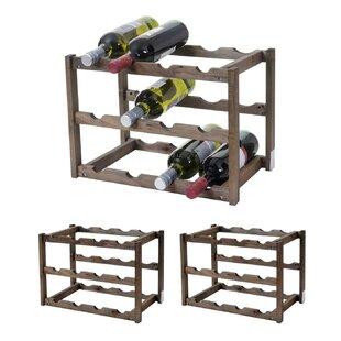Vallejo 36 Bottle Wine Rack (Set Of 3) By Mercury Row