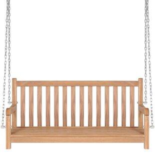 Swing Teak Bench By Freeport Park