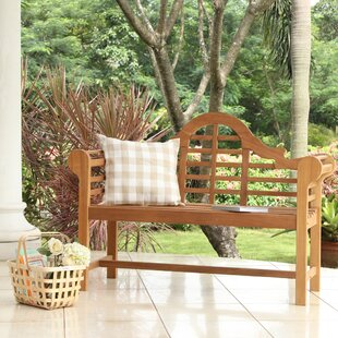 Wallie Teak Garden Bench