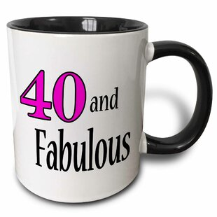 Aaron 40 and Fabulous Coffee Mug
